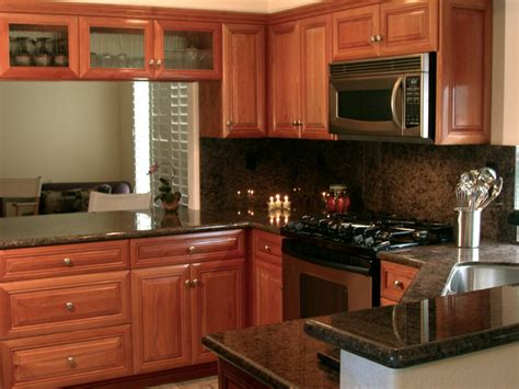 Kitchen Ideas With Cherry Wood Cabinets Cherry Wood Kitchen Cabinetry Traditional Kitchen San Diego By Authentic Designs