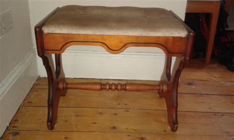 Dressing Room Stools by Antique Piano Or Dressing Room Stool For Sale In Monkstown