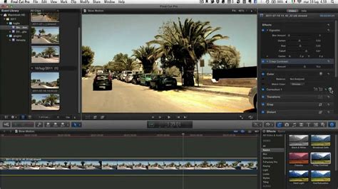 final cut pro slow motion final cut pro x ultra slow motion tutorial youtube