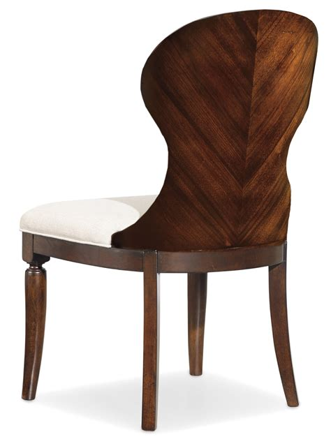 back side chair furniture dining room palisade wood back side chair