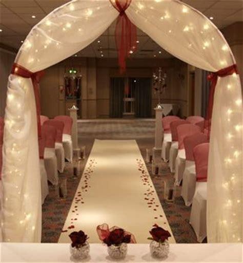 draped wedding arch draped wedding arch with lights wedding day pinterest