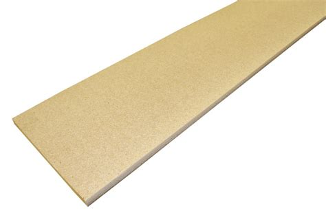3 4x12 12 ft bullnose particle board shelving at sutherlands