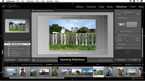 Creating A Slideshow In Adobe Lightroom 5 Youtube Lightroom Slideshow Templates Free