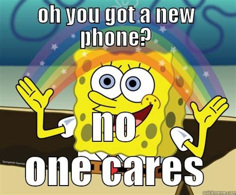 No One Cares Spongebob Meme - rainbow spongebob meme www imgkid com the image kid