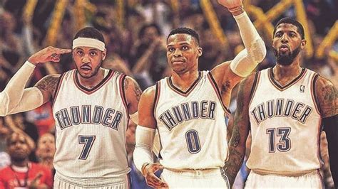 bug three 2018 carmelo anthony traded to thunder okc creates big 3 nba