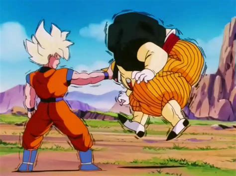 goku vs android 19 image gokuvsandroid19ep128 png wiki fandom powered by wikia
