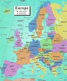 Europe Map Countries And Capitals by Europe Countries And Capitals Related Keywords
