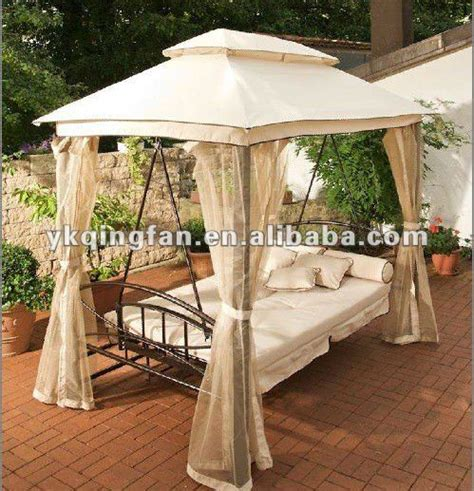 luxury porch swings luxury gazebo garden swing bed qf 6325 buy garden
