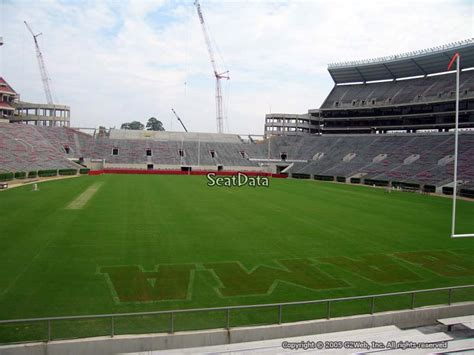 bryant denny stadium student section bryant denny stadium section s6 rateyourseats com