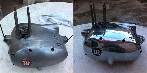 como pulir aluminio restauraci 243 n de una impala turismo el proceso casero