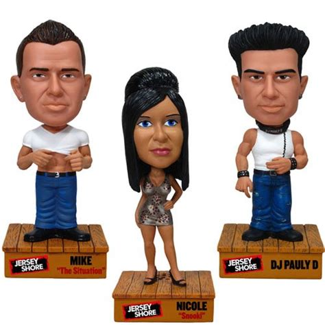 dj pauly d bobblehead jersey shore mike the situation dj pauly d and snooki