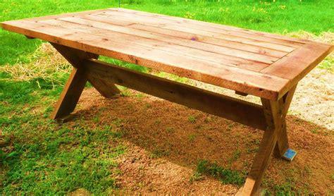 palmetto picnic table fence row furniture