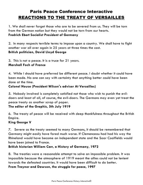 Treaty Of Versailles Essay by Free Sle College Treaty Of Versailles Essay