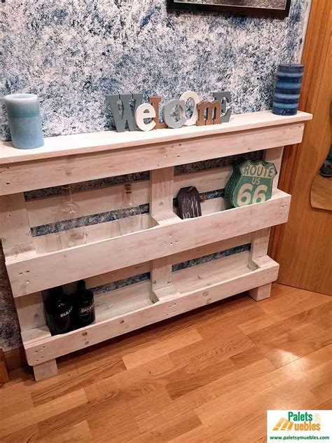 palets muebles recibidor con palets reciclados palets y muebles