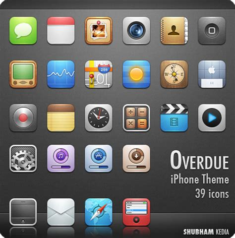 themes for icons on iphone enhance your apple iphone with these beautiful free themes