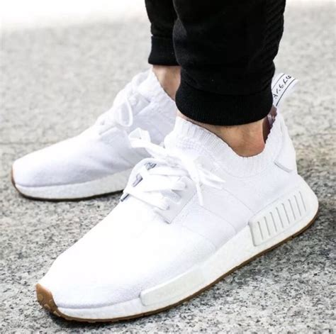 by1888 adidas nmd r1 pk primeknit white gum 8 5 ebay