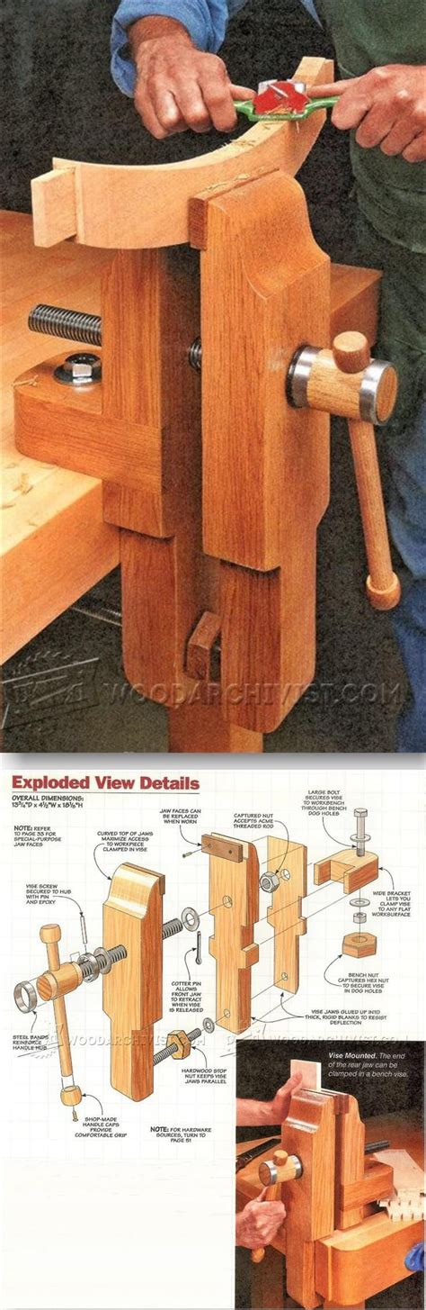woodworking vise plans 462 best workshops work spaces and workbenches images on