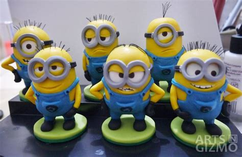 Modelling Clay Minion Phil 3783 best clay figures images on modeling fimo and cold porcelain