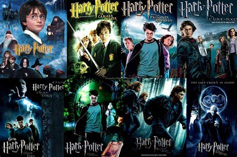 harry potter movies harry potter movies in order