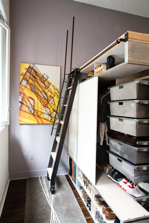 creative and functional loft system for small condo