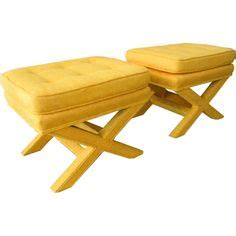 Looking For Ottomans Yellow Ottoman On Teal Rug Teal And