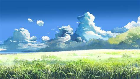 Beautiful From World Artbook makoto shinkai 5 centimeters per second field