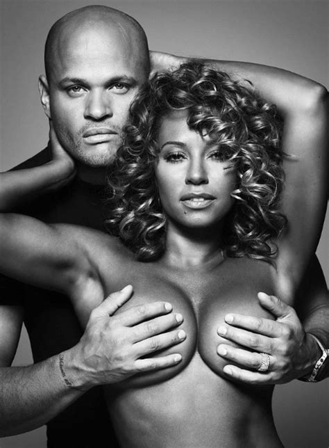 Mel B Grabs A Handful Of Beckhams Breast Assets by Mel B Janet Jackson Esque Photo Spread For