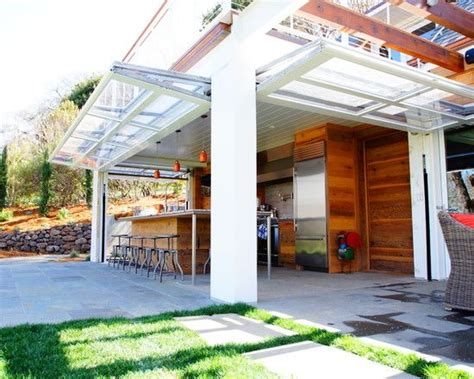 Indoor Garage Door by Great Use Of Glass Garage Doors In The Lower Level For A
