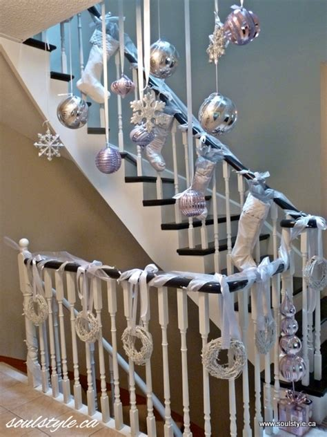 banister christmas ideas all the whos down in whoville beautiful banister ideas