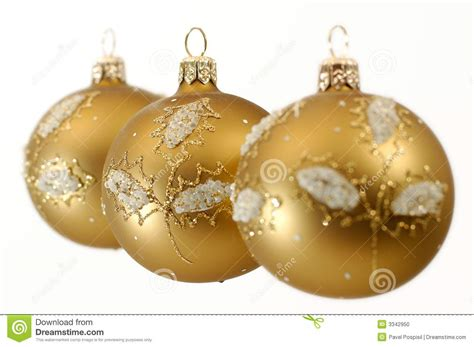 christmas decorative balls stock photo image 3342950