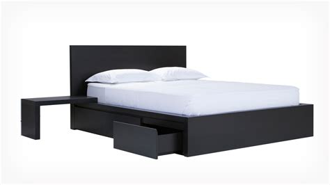 eq3 bed eq3 simple bed w panel headboard