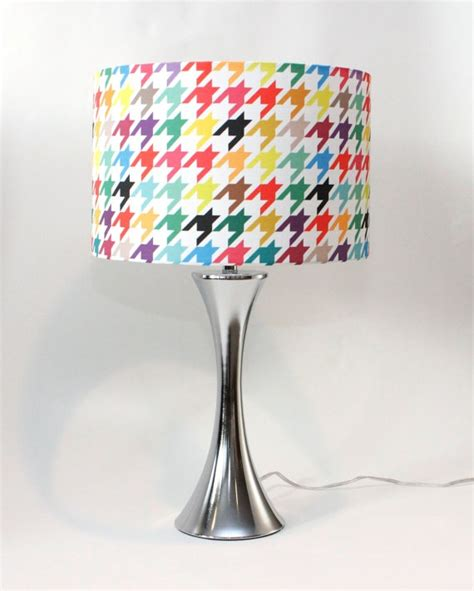 drum pattern happy l shade 14 quot drum houndstooth bright and colorful