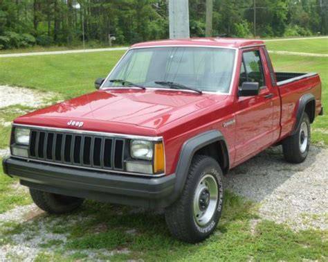 1987 Jeep Comanche Purchase Used 1987 Jeep Comanche Base Standard Cab