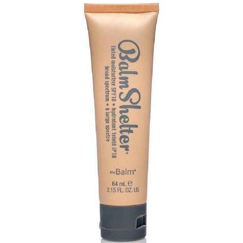 balmshelter lighter than light thebalm balm shelter tinted moisturizer spf 18 64 ml