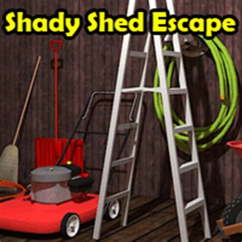 Shady Sheds by Shady Shed Escape Walkthrough Help Hints And Discussion