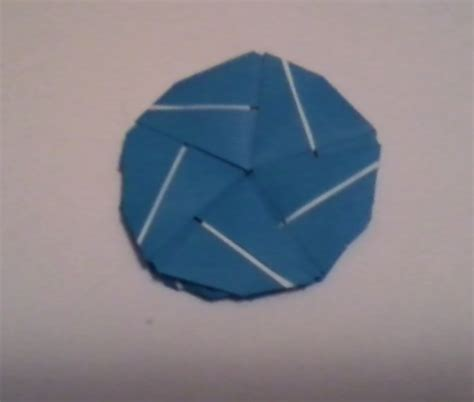 Circle Origami - origami decagon or circle by origamidragon2 on deviantart