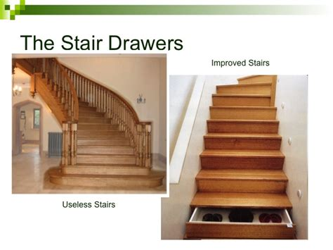 How To Build Stair Drawers by Creative Storage Solutions For Compact Homes