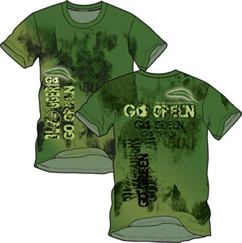 design kaos go green go green ii desain kaos desain t shirt desain baju