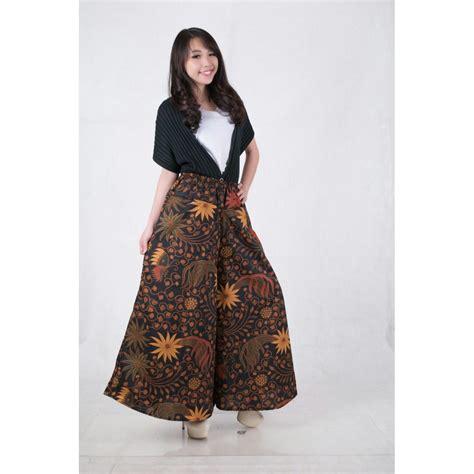 Celana Rok Ninia Pant Jumbo celana batik rok kulot sanira jumbo elevenia