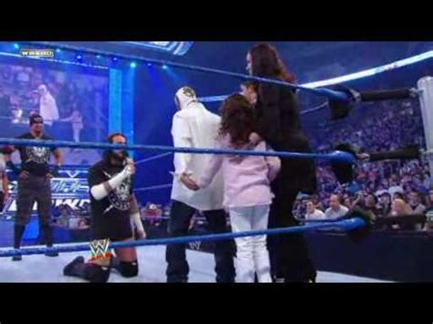 smackdown cm punk confronts rey mysterio  hes