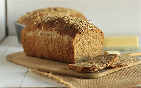 in bread whole wheat sandwich bread with oats