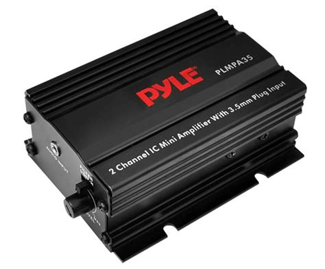 Small 4 Channel Home Lifier Pyle Plmpa35 Home And Office Lifiers Receivers