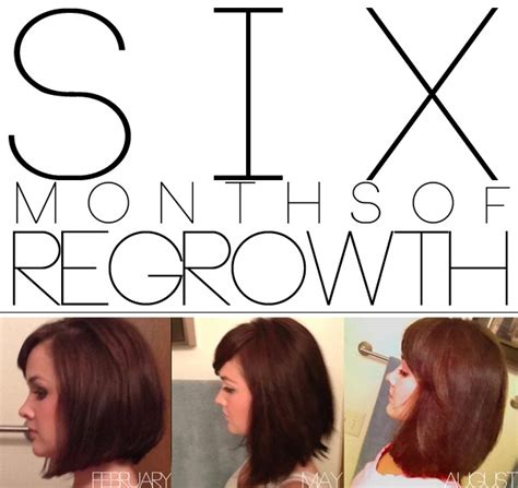month by month hair growth pictures
