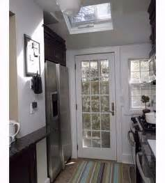 Kitchen Design Ideas For Small Galley Kitchens by Kitchen 2 Back Door Access One Kitchen Three Ways