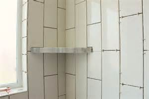 eckregal dusche how to install a tile shower corner shelf