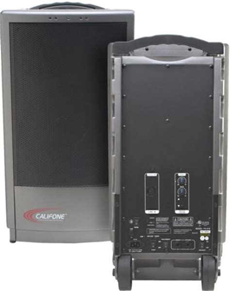 Speaker Portable Wireless Ps 154pp4 Mic Handle califone pa919ps companion powerpro portable audio