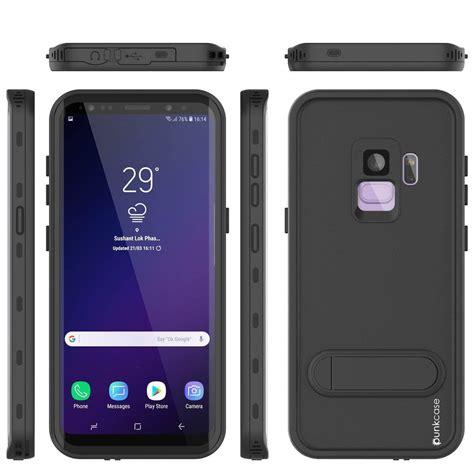 R Samsung S9 Waterproof Galaxy S9 Waterproof Punkcase Kickstud Series Armor Cover Bla