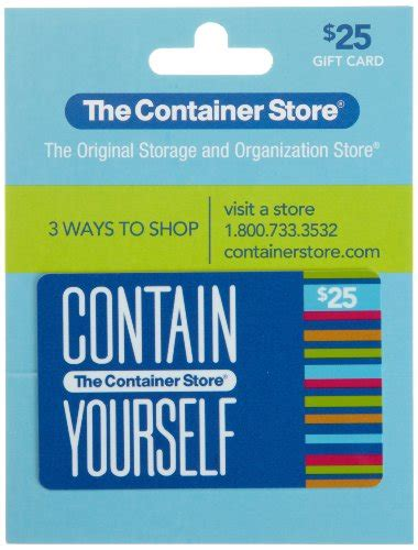 The Container Store Gift Card - the container store gift card 25 home garden household supplies storage organization