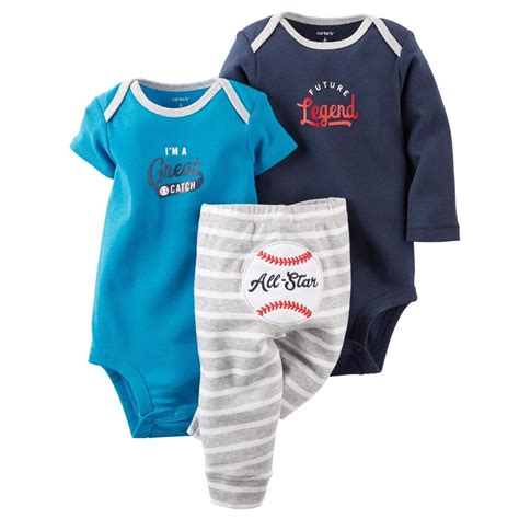 Carters Pant 3 In 1 24 Month carters newborn 3 6 9 12 18 24 months bodysuit set baby boy clothes blue ebay