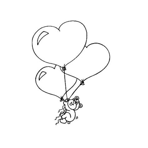 heart balloon coloring page 10 free valentine s day coloring sheets you can print at home